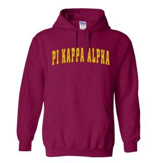 Pi Kappa Alpha letterman Hoodie