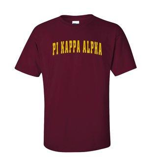 Pi Kappa Alpha letterman tee