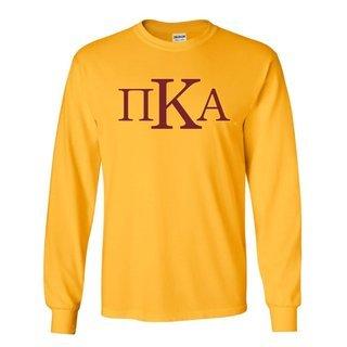 Pi Kappa Alpha Logo Long Sleeve Tee