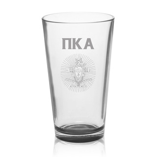 Pi Kappa Alpha Mixing Glass