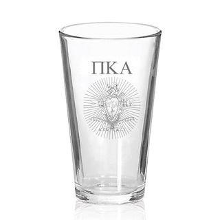Pi Kappa Alpha Mixing Glass