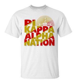 Pi Kappa Alpha Nation T-Shirt