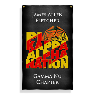 Pi Kappa Alpha Nations Giant Flag
