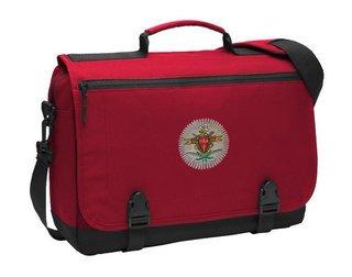DISCOUNT-Pi Kappa Alpha Emblem Briefcase