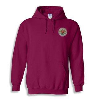 DISCOUNT-Pi Kappa Alpha Crest - Shield Emblem Hooded Sweatshirt