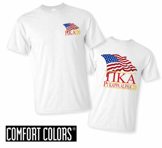 Pi Kappa Alpha Patriot  Limited Edition Tee - Comfort Colors