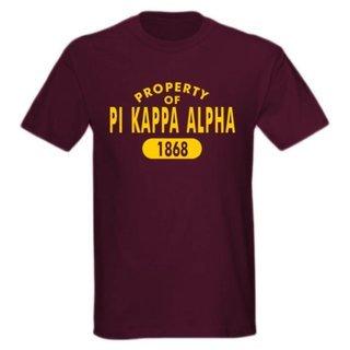 Pi Kappa Alpha Property of Est. Shirt