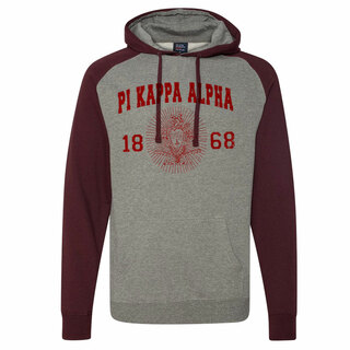Pi Kappa Alpha Raglan Heather Pullover
