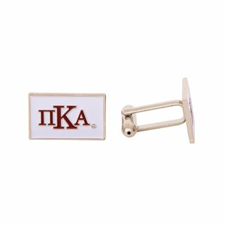 Pi Kappa Alpha Rectangle Cuff Links
