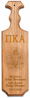 Pi Kappa Alpha Traditional Greek Paddle