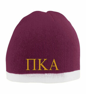 Pi Kappa Alpha Two Tone Knit Beanie