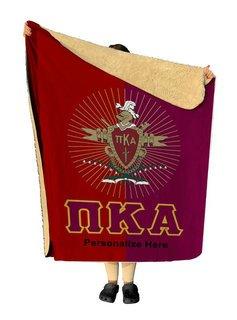 Pi Kappa Alpha Two Tone Two Tone Sherpa Lap Blanket