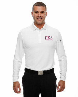 Pi Kappa Alpha Under Armour�  Men's Performance Long Sleeve Fraternity Polo