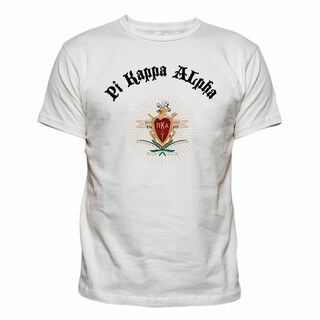 Pi Kappa Alpha Vintage Crest - Shield T-shirt