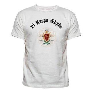 Pi Kappa Alpha Vintage Crest - Shield T-shirt