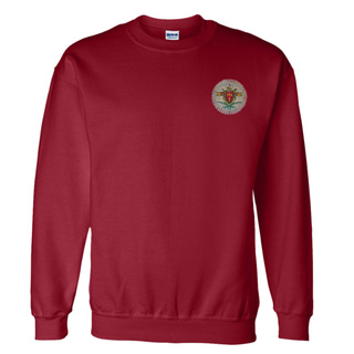 DISCOUNT-Pi Kappa Alpha World Famous Crest - Shield Crewneck Sweatshirt