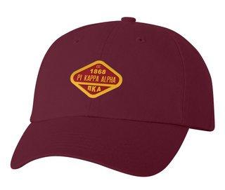 DISCOUNT-Pi Kappa Alpha Woven Emblem Hat