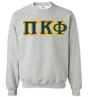 Pi Kappa Phi - 2 Day Ship Twill Crewneck Sweatshirt