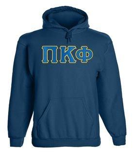 Pi Kappa Phi - 2 Day Ship Twill Hooded Sweatshirt