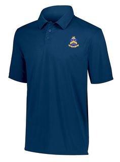 DISCOUNT-Pi Kappa Phi- World Famous Greek Crest - Shield Vital Polo