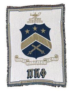 Pi Kappa Phi Afghan Blanket Throw