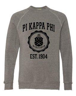 Pi Kappa Phi Alternative - Eco-Fleece� Champ Crewneck Sweatshirt