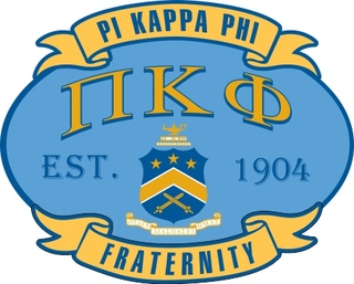 Pi Kappa Phi Banner Crest - Shield Decal