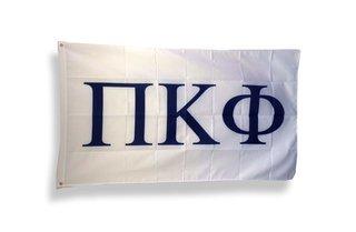 Pi Kappa Phi Big Greek Letter Flag