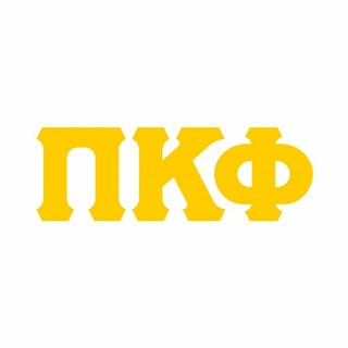 Pi Kappa Phi Big Greek Letter Window Sticker Decal