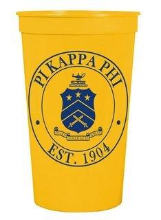 Pi Kappa Phi Big Plastic Stadium Cup