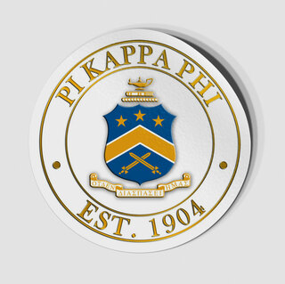 Pi Kappa Phi Circle Crest - Shield Decal
