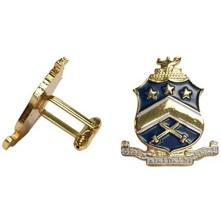 Pi Kappa Phi Color Crest - Shield Cuff links-ON SALE!