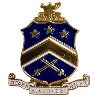 Pi Kappa Phi Color Crest - Shield Pins