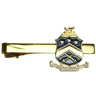 Pi Kappa Phi Color Crest - Shield Tie Clips