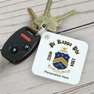 Pi Kappa Phi Color Keychains