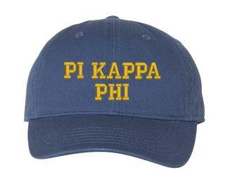 Pi Kappa Phi Comfort Colors Pigment Dyed Baseball Cap