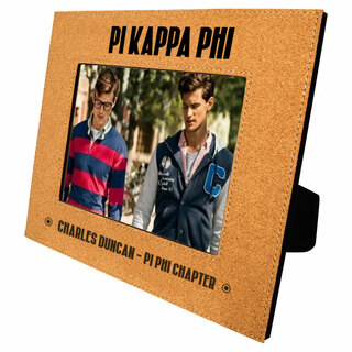 Pi Kappa Phi Cork Photo Frame