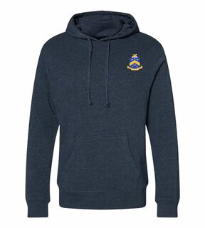 Pi Kappa Phi Crest Gaiter Fleece Hooded Sweatshirt