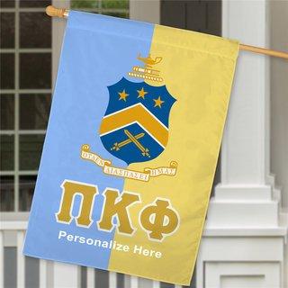 Pi Kappa Phi Crest House Flag