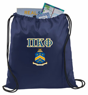 Pi Kappa Phi Crest - Shield Cinch Sack