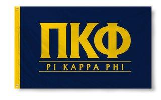 Pi Kappa Phi Custom Line Flag