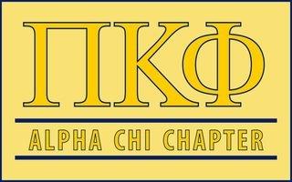 Pi Kappa Phi Custom Line Sticker Decal