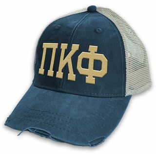 Pi Kappa Phi Distressed Trucker Hat