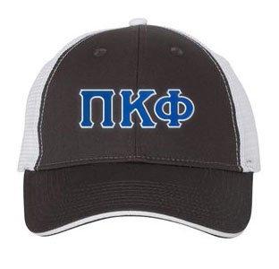 Pi Kappa Phi Double Greek Trucker Cap