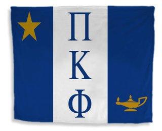 Pi Kappa Phi Flag Giant Velveteen Blanket
