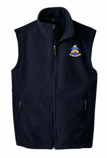 Pi Kappa Phi Fleece Crest - Shield Vest