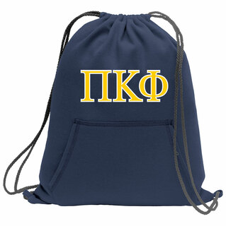 Pi Kappa Phi Fleece Sweatshirt Cinch Pack