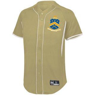 5117f01c Pi Kappa Phi Game 7 Full-Button Baseball Jersey
