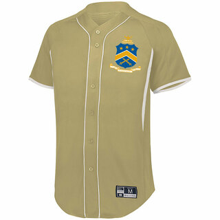 Pi Kappa Phi Game 7 Full-Button Baseball Jersey
