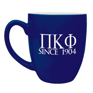 Pi Kappa Phi Greek Bistro Mug